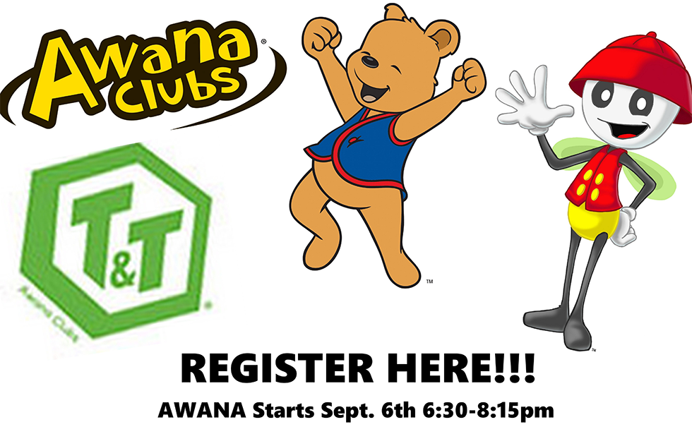 Register for Awana