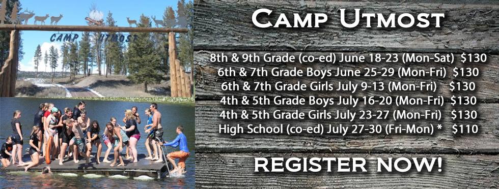 Camp Utmost 2018