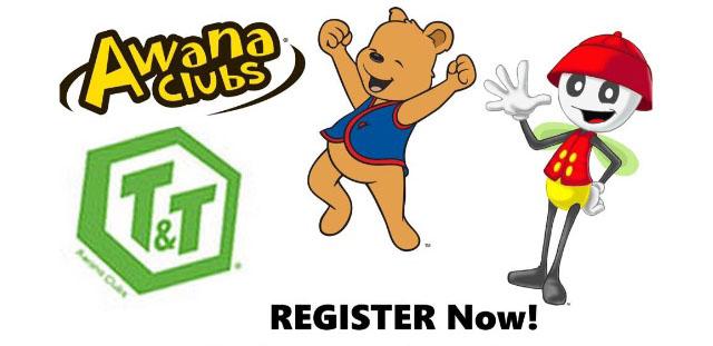 Register for Awana